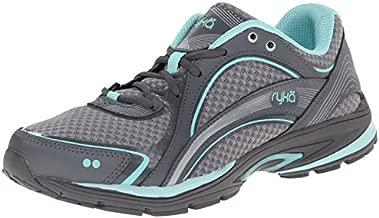 Ryka Women's Walking Shoe, Frost Grey/Aqua Sky/Iron Grey, 9 M US