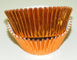 Brass Copper Color Foil Cupcake Muffin Baking Cups 50 Count