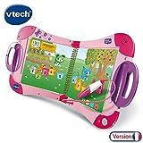 VTech - MagiBook Starter Pack Rose, Livre Interactif enfant
