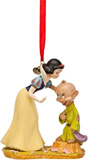 Disney Store Snow White Kissing Dopey Sketchbook Ornament Figurine from Snow White and the Seven Dwarfs