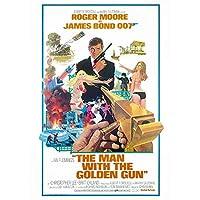 JAMES BOND ジェームズボンド - The Man With The Golden Gun/ポストカード・レター 【公式/オフィシャル】