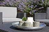 Allibert Tisch, Garten, Allibert Tisch Arica, grau mit Stauraum - 4