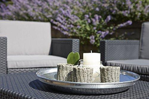 Allibert Tisch Arica | Gartenbox | Aufbewahrungsbox | Grau - 6