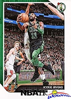 Kyrie Irving 2018/2019 Panini Hoops NBA Basketball #96 in MINT Condition! Shipped in Ultra Pro Top Loader to Protect it! Awesome Card of Boston Celtics Superstar! WOWZZER!