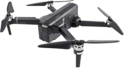 KAIFH Drone 4K Caméra Drone Drone Quadrilatère Avion GPS Caméra Aérienne Intelligente Télécomhommede sans Brosse Avions à Un Bouton Retour sans Tête Mode Photo Vidéo Atterrissage d'urgence