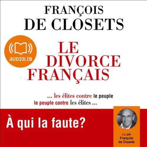Couverture de Le divorce français