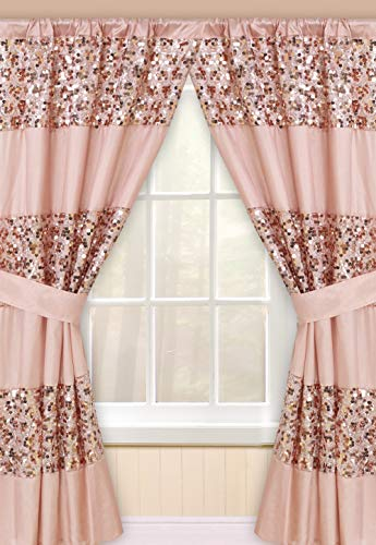 Popular Bath Blush Sinatra, Window Curtain