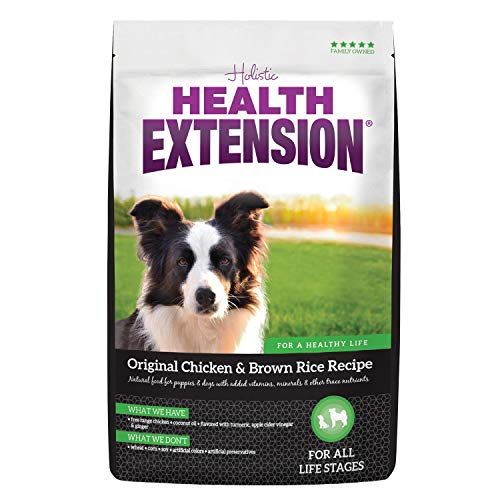 Health Extension Original Dry Dog Food - Chicken and Brown Rice Recipe