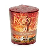Root Candles Legacy 20-Hour Beeswax Votive Candles, 18-Pack, Crisp Autumn, 18 Piece