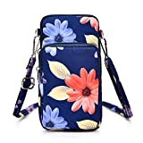 WATACHE Sports Armband Outdoor Sweat-proof Running Armbag Cross-body Shoulder Casual Wallet Purse Gym Fitness Cell Phone Bag Key Holder for iPhone Xs Max/Xr, Galaxy S10 Plus, Huawei P30 Pro (#8)