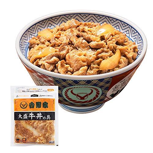 吉野家 [大盛 牛丼の具 160g×10袋セット] 冷凍便 (レンジ・湯せん調理OK)