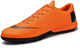 WOJIAO Men's And Kid's Fashion Spike Shoes Soccer Shoes Non-slip Shoes Training Shoes Outdoor Sports Shoes