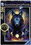 Ravensburger Puzzle 13970 - Leuchtender Wolf - 500 Teile