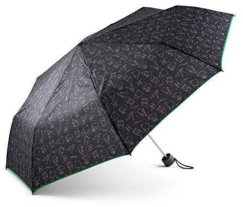 Baagl Star Wars Regenschirm - Taschenschirm Leicht und Kompakt - Schirm Windsicher und Stabil (Star Wars)