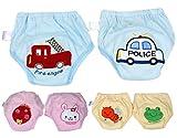 BONAMART Trainingshose Stoffwindeln Windeln Unterhosen Töpfchen Für Kinder Jungen, Unterwäsche Toilettensitz Kinder, 6 Einheiten Mehrfarbig, 95CM