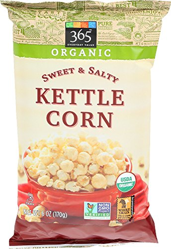 365 Everyday Value, Organic Kettle Corn, Sweet & Salty, 6 oz