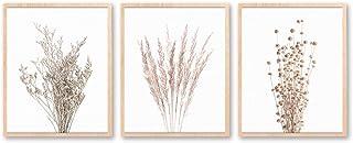 Botanical Wall Art, Printable Art, Set of 3 Prints, Farmhouse Decor, Farmhouse Prints, Floral Poster, Farmhouse Decor, Min...
