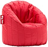 Big Joe Lumin SmartMax Fabric Chair, Red