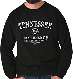 Tennessee The Volunteer State Trademark TN Crewneck Sweatshirt