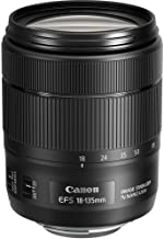 Canon 1276C002-IV EF-S 18-135mm f/3.5-5.6 Image Stabilization USM Lens (Black) (International Model) No Warranty [Bulk Packaging]