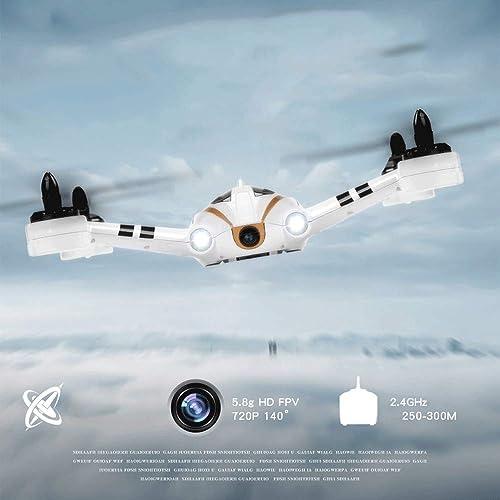contador genuino AXJJ Drone FPV con cámara de 720p HD 140 140 140 ° Vídeo en Vivo RC Quadcopter para Adultos Profesionales con Motor sin escobillas Transmisión WiFi 5.8G, Almacenamiento en Tarjeta de Memoria  se descuenta