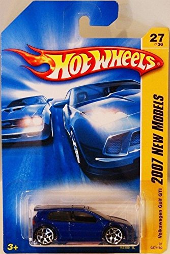 Hot Wheels VolkswagenVW Golf GTI Blue (2007 First Editions)