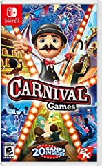 Play, win, get rewards: Play games, win tickets, and trade them in for new outfits for Your carnival guest characters. Dress them up to match Your style or be as wild as you can with wacky headgear, shirts and bottoms. Carnival Games Everywhere : Wit...