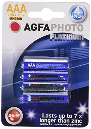 AgfaPhoto 59866Batterien Alkaline Universal LR03/AAA 1.5 v, 4er Pack