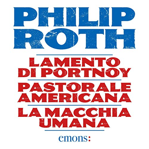 Cofanetto Philip Roth audiobook cover art