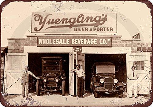 Custom Kraze Aluminiumschild 20,32 x 30,5 cm 1934 Antik PA Brauerei Verbot Pub Yuengling Bier Vintage Reproduktion Schild Made USA