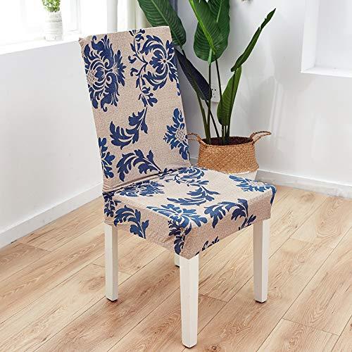 happymxwx Gedruckte Stretch einfache Stehstuhlbezug reichen Baum,Stuhlhussen,Stretch Stuhlbezug,Elastische Abdeckungen für Esszimmerstühle, Universelle Dekoration Stuhl-Abdeckung
