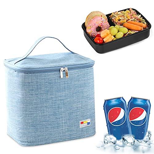 Kühltasche Faltbar Thermotasche,Picknick Korb Tasche,Kühltasche Faltbar Einkau,Picknicktasche Kühltasche,Lunch-Tasche Herren,Lunch Tasche