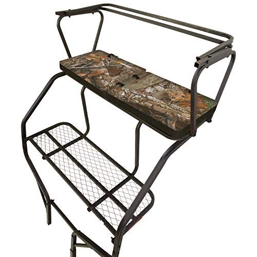 Allen Company Vanish Ladder Tree Stand Foam Seat Cushion, Extra Long and Wide - Foldable, 38 x 13 x 2 Inches - Realtree Edge, Camo