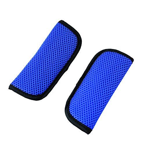 Yworld autostoel- en kinderwagenriemhoezen, 2 stuks universeel zitbandkussen voor kinderwagens, geschikt voor nek en schouder in de kinderwagen tijdens het slapen voor kinderen