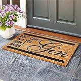 Smart Garden Gin Quote Decoir Doormat Indoor Outdoor Door Mat 75x45cm