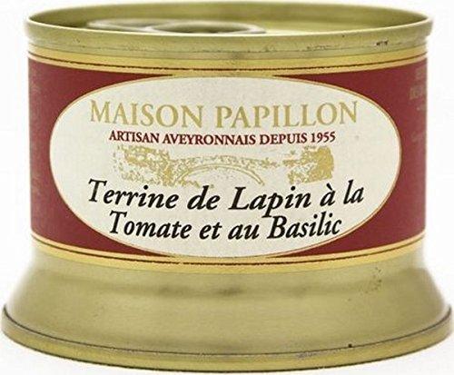 Maison Papillon - Kanninchenpastete mit Tomate & Basilikum - 130 g