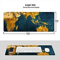 世界 地図 マウスパッド キーボードパッド 滑らかマウスパッド ゲーミングパッド 大型 オフィス 家庭用