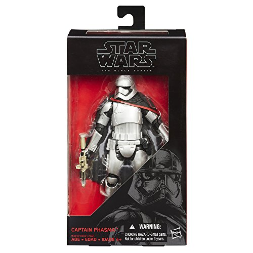 Figurine de Capitaine Phasma Star Wars Série Noire - 1