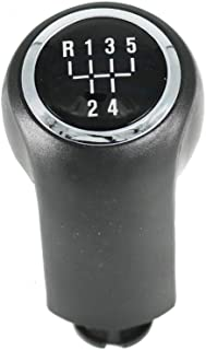 New For VAUXHALL OPEL ASTRA H III MK5 CORSA D ZAFIRA B Car Styling 5 Speed Automatic Gear Stick Shift Knob Lever Chrome
