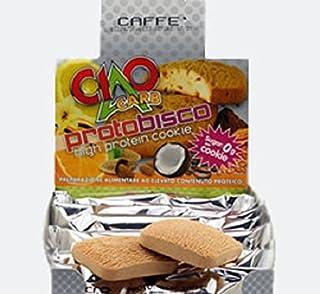 Galleta proteica Protobisco - 2 Galletas de Café - Rico en proteína y fibra - (50 gr, 2x25 gr) - SP506