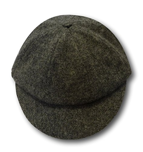 Albert Prendergast Gorra escolar de franela de lana gris