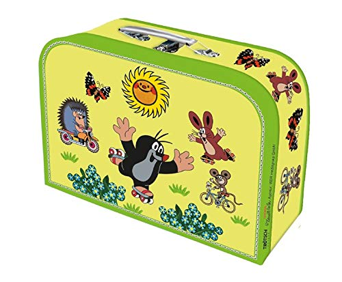 Trötsch Der kleine Maulwurf Kinderkoffer klein: Pappkoffer Reisekoffer Kinder Spielkoffer