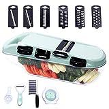 Best Mandolin Slicers - Mandoline Slicer, Potato Slicer Veggie Cutter, Handheld Vegetable Review