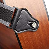 Mr.Power Guitar Strap with 3 Pick Holders for Electric/Acoustic Guitar (Nylon Strap)