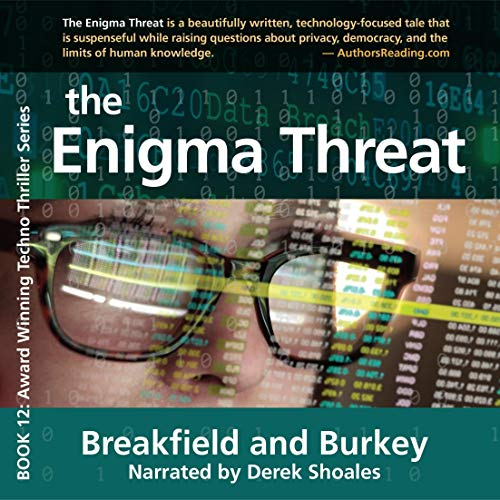 The Enigma Threat Audiobook By Charles V. Breakfield, Rox Burkey cover art