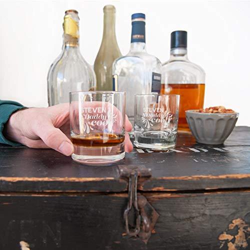 Vaderdag whiskey glazen - Set van 2