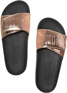 Victoria's Secret PINK Crossover Comfort Slide Sandals Shoes