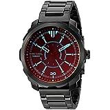 Diesel Men's Machinus Quartz Stainless Steel Three-Hand Watch, Color: Black (Model: DZ1737)