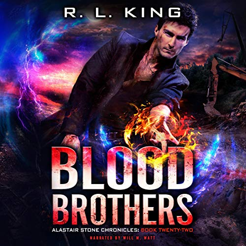 Couverture de Blood Brothers: An Alastair Stone Urban Fantasy Novel
