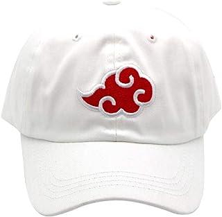 ALTcompluser Unisex Anime Naruto Baseball Cap geborduurd Akatsuki logo verstelbare Trucker Hat